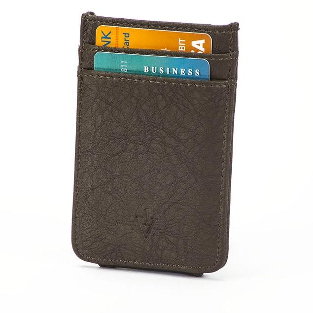 The Striker RFID Blocking Leather Card Holder & Magnetic Money Clip