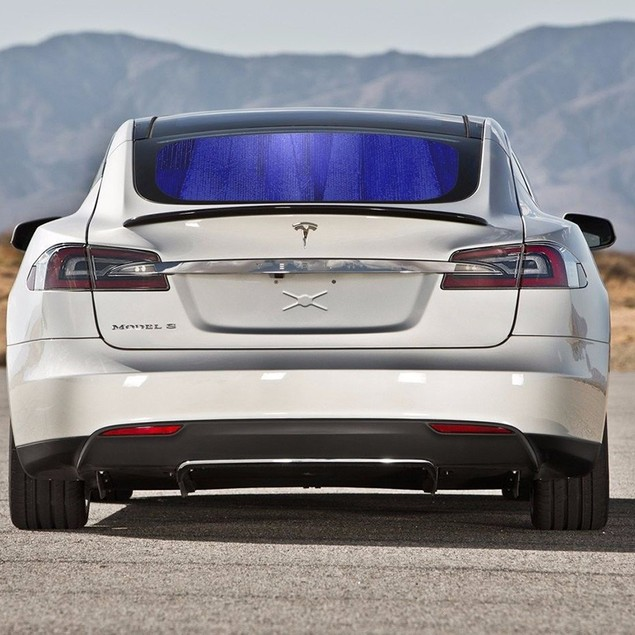 "Zone Tech BlueSilver Reversible Car Windshield Sun Protection Shade 28""x54"""