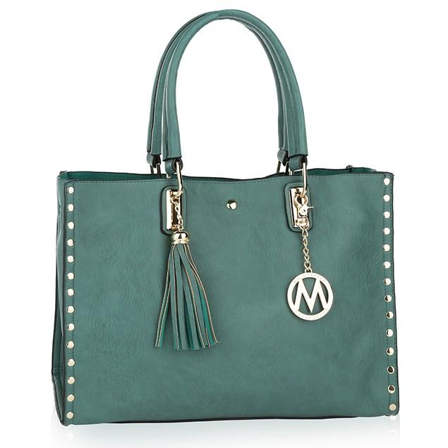 MKF Collection Isa Satchel Handbag by Mia K.