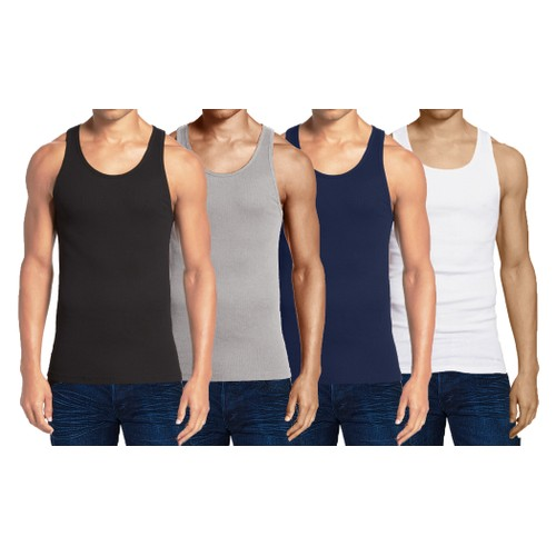 Men's Multi-Pack Classic Stretch Tank Tops (Sizes, S-2XL)