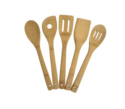 Bamboo Utensil Set Was: $25.99 Now: $8.99.