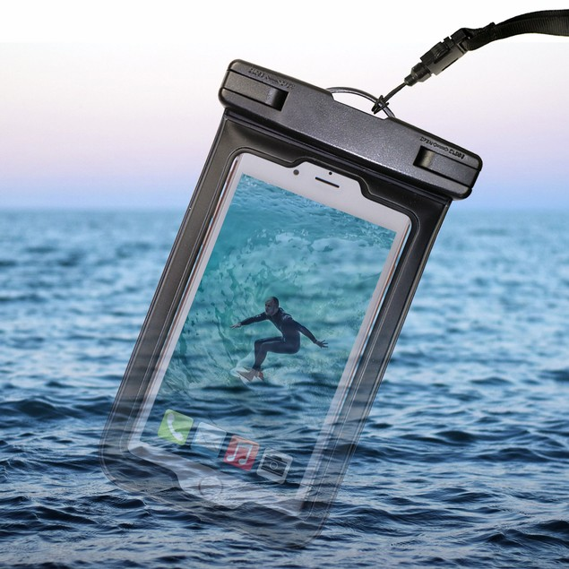 2-Pack: Touch ID Water-Proof Pouch for Smartphones