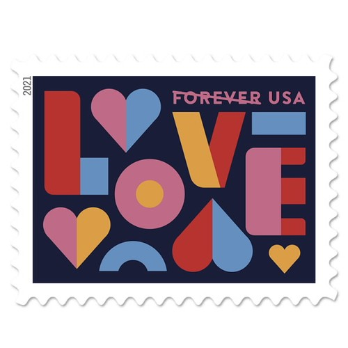 Forever Stamps Love