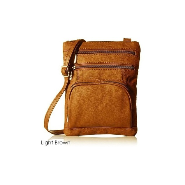 Genuine Leather Crossbody - 2 Size Options
