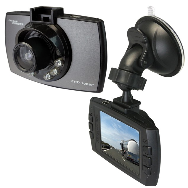 HD DVR Dash Camera with 4GB Memory Card & Accessories