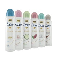 6-Pack Dove Woman+Care Dry Spray Antiperspirant Deodorant 150 ML