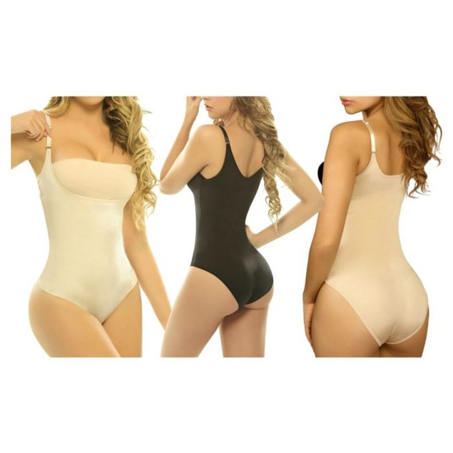 High Compression Womens Shapewear Bodysuit Regular and Plus Sizes