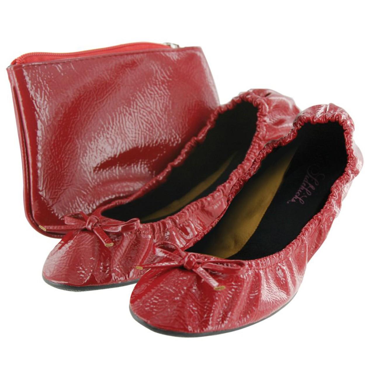 2aff04980 Sidekicks Women's Foldable Flats with Carrying Case - Tanga