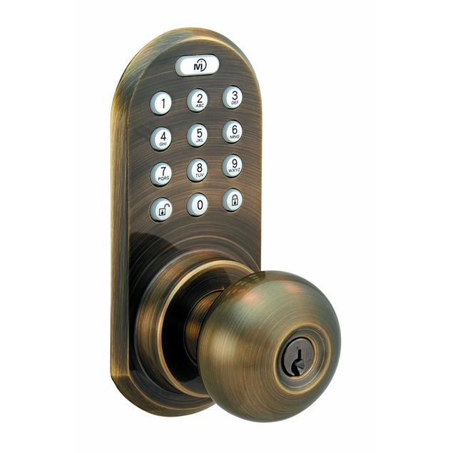 Morning Industry 3-In-1 Remote Control & Touchpad Doorknob