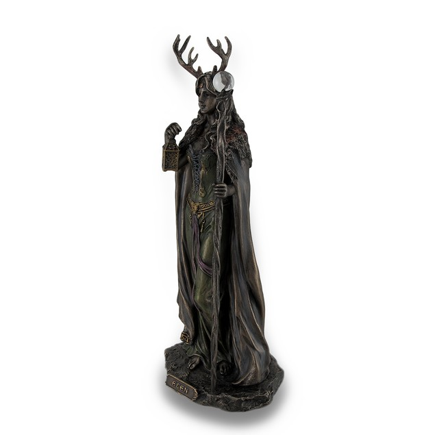 Elen Of The Ways Bronze Finish Statue Pagan Statues
