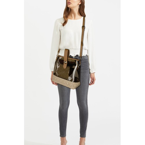 MKF Collection Reese M Signature Convertible Backpack by Mia K .