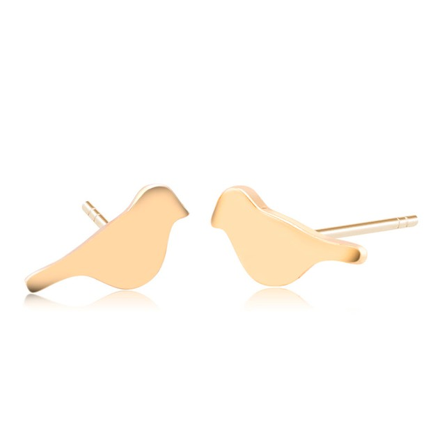 Bird Stud Earrings - 2 Colors