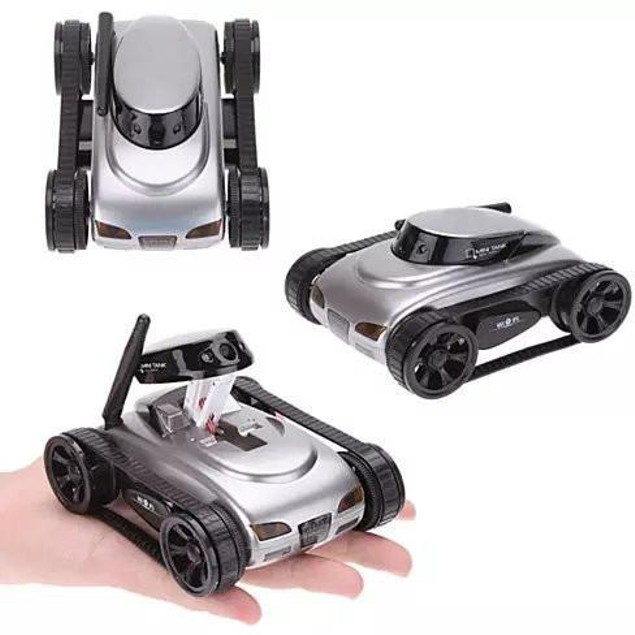 All Mighty TOY TANK with Wireless Camera and Remote Control by APP