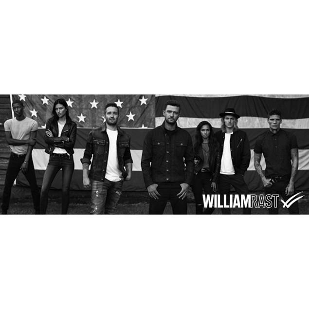 6-Pack William Rast By Justin Timberlake Men's Crew Dress Socks