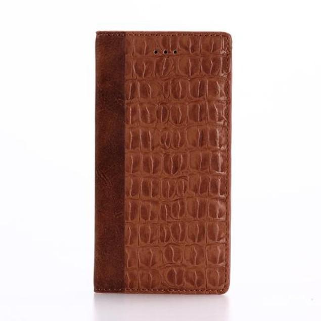 iPM Crocodile Folio Wallet Case for iPhone 7