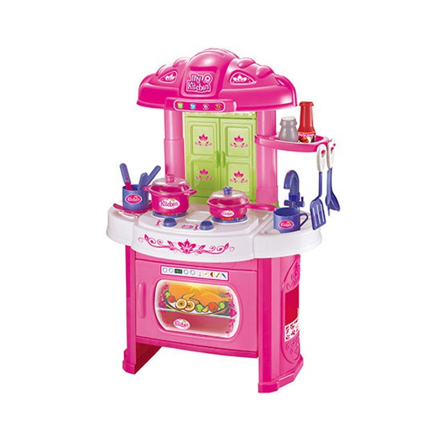 16-Piece Glamor Girlz My Kitchen Playset with Light and Sound