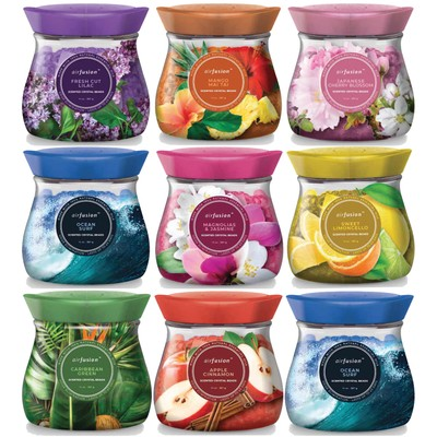 6-Pack Assorted Scented Crystal Freshener Beads