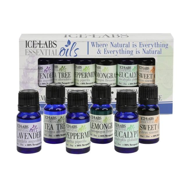 6-Pack Essential Oils 10ml Bottles