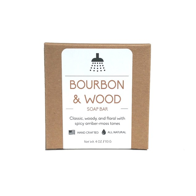 Bourbon & Sandalwood Soap Bar