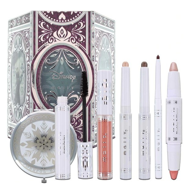 "Mally Beauty x Disney ""Frozen"" 7-Piece Cosmetics Set - Anna or Elsa"