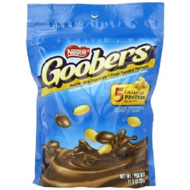 Nestle Goobers Milk Chocolate Covered Peanuts Candy