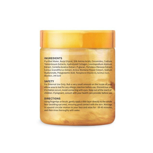 Amore Paris 24K Gold Facial Mask