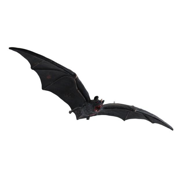 Set Of 2 Cool Decomposing Vampire Bat Hanging Statues