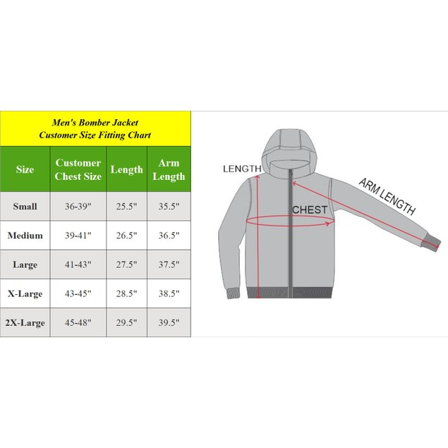 Men's Heavyweight Classic Hooded Windproof Bomber Jacket (S-2XL)