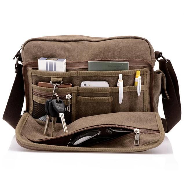 Valencia Multifunction Men's Messenger Bag