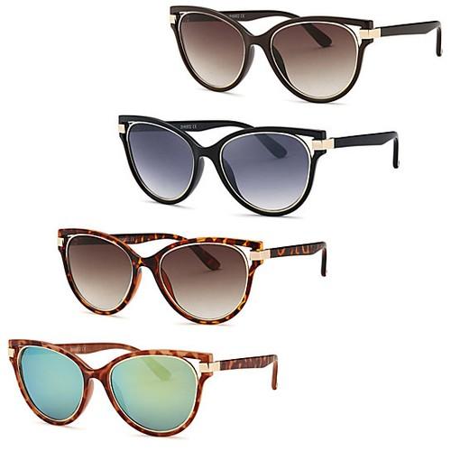 4-Pack Modern Diva Frame Sunglasses