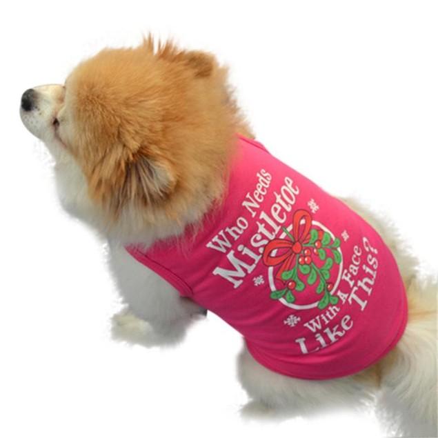 Christmas Dog Vest