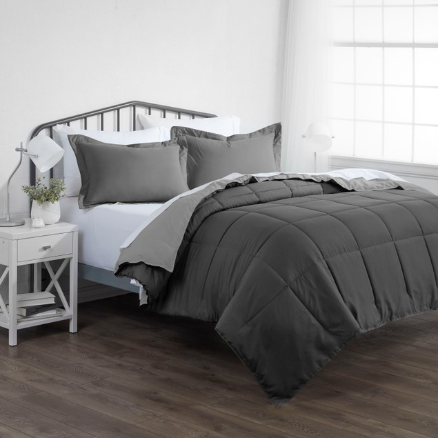 Home Collection Premium Down Alternative Reversible Comforter Set