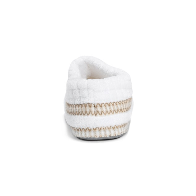 MUK LUKS  Rita Micro Chenille Full Foot Slippers