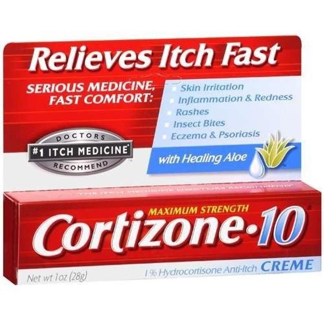 Cortizone Maximum Strength Creme With Healing Aloe 1oz Tube