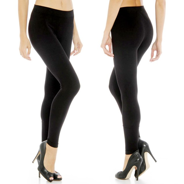 6-Pack of Women's Fleece-Lined Leggings