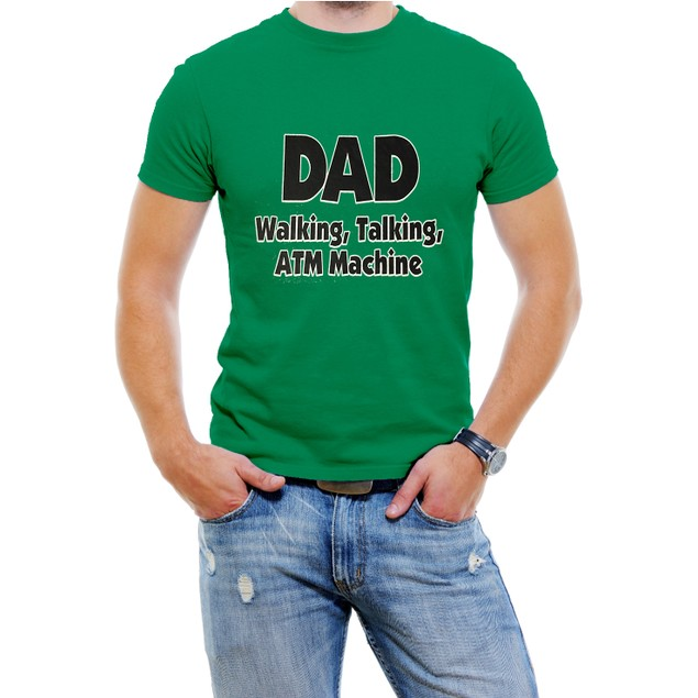 DAD Walking, Talking, ATM Machine Funny T-Shirt