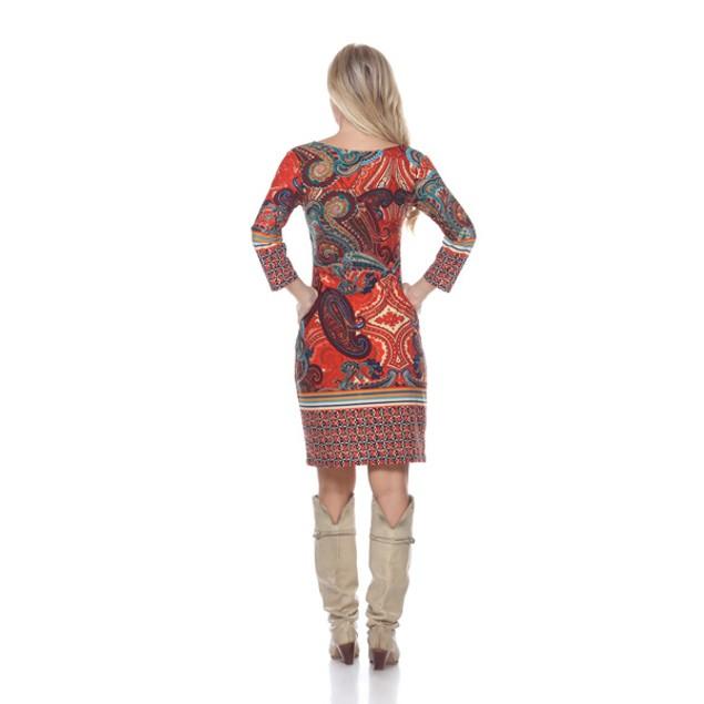 White Mark Women's 'Vivian' Dress