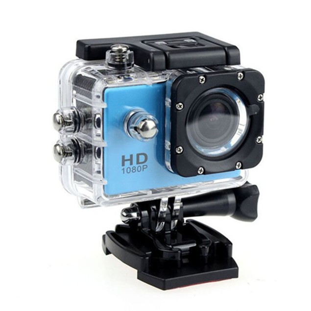 1080P HD Sports Action Camera + FREE 16GB Memory & Accessory Bundle