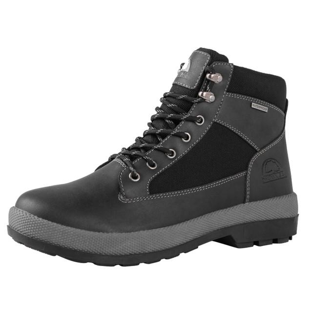 Brown Oak Men's Waterproof All Weather Casual Work Hiking Boots- 2 Colors