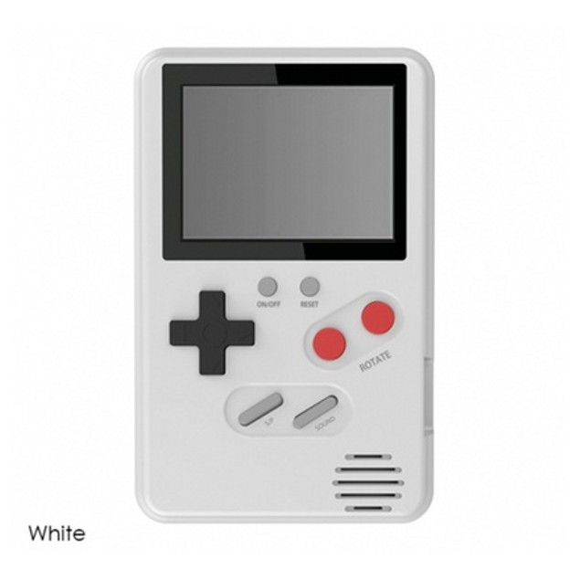 Slim Retro Gaming Device with 500 Games Built-In - 4 Colors