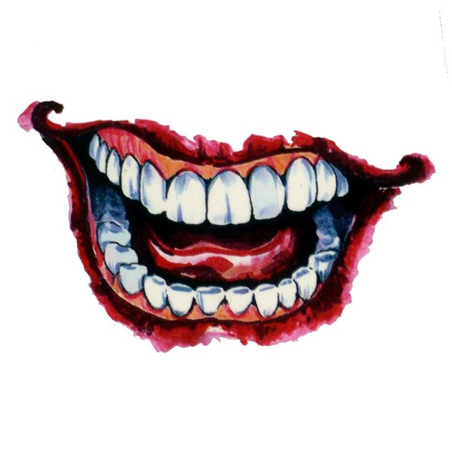 Rubie's Suicide Squad: The Joker Temporary Body Tattoo Kit Costume Licensed
