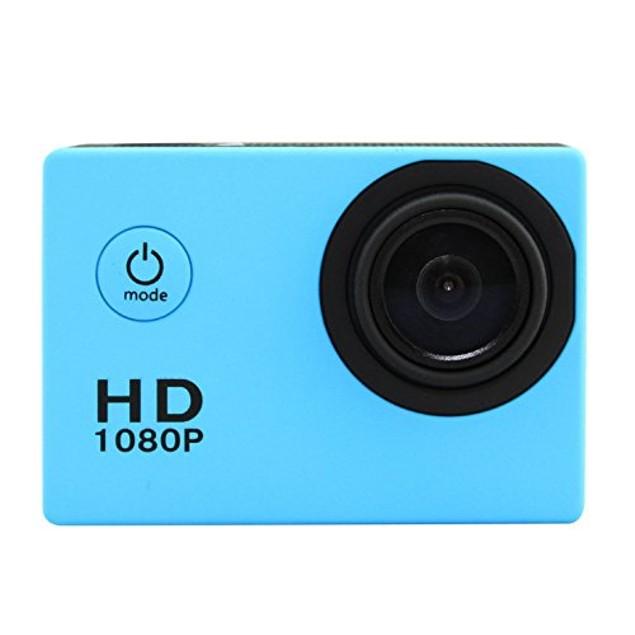 1080P HD Sports Action Camera + FREE 16GB Memory & Accessory Bundle