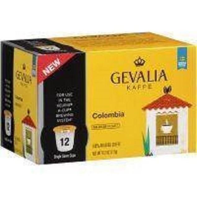 Gevalia Kaffe Colombian Roast K Cup Keurig