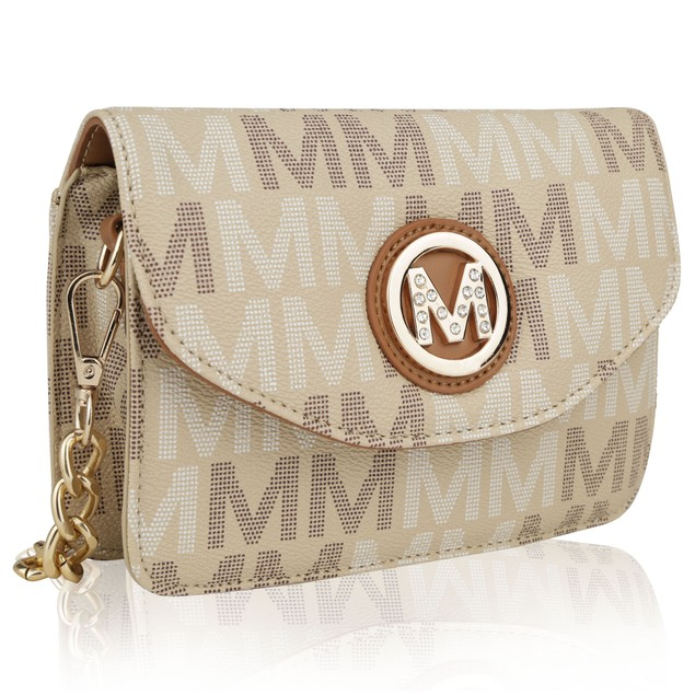 MKF Collection Ferrara M Signature Cross Body Bag by Mia K Farrow