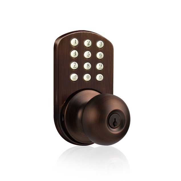MiLocks Keyless Entry Keypad Knob Door Lock