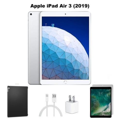 "Apple 10.5"" iPad Air 3 MUUK2LL/A Bundle (64GB, Silver)"