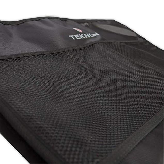 2-Pack Teknon Car Seat  Kick Mat Protector w/ Organizer + Storage Pockets