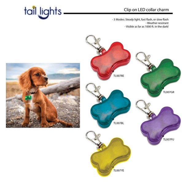 Clear LED Pet Safety Light