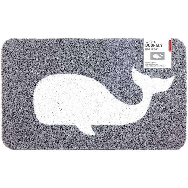 Kikkerland Whale Doormat