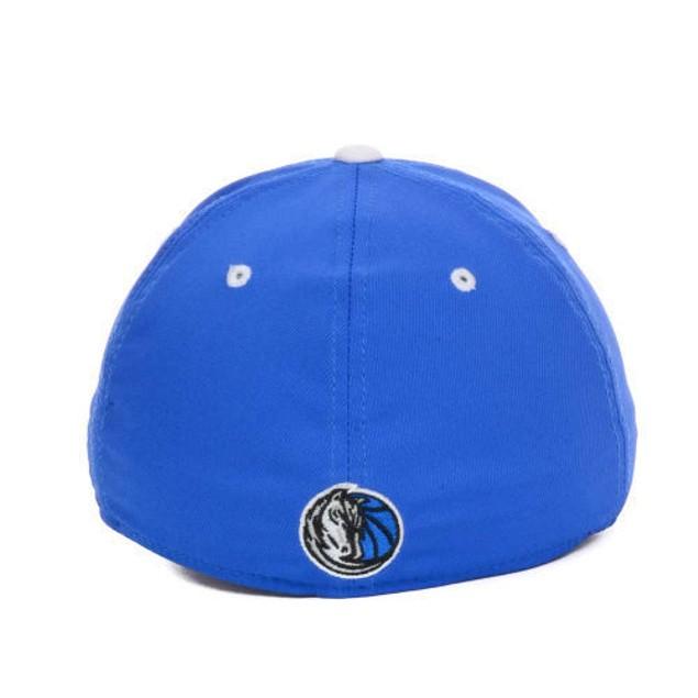 "Dallas Mavericks NBA Adidas ""Team Practice"" Stretch Fitted Hat"